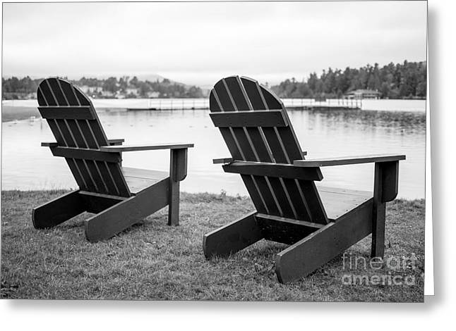 Relaxing At The Lake  Greeting Card by Edward Fielding