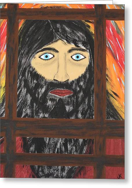 Release Prisoner Greeting Cards - Release Me Greeting Card by Jeffrey Koss