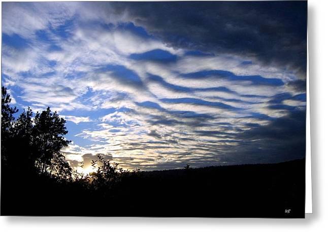 Noteworthy Greeting Cards - Remarkable Sky Greeting Card by Will Borden