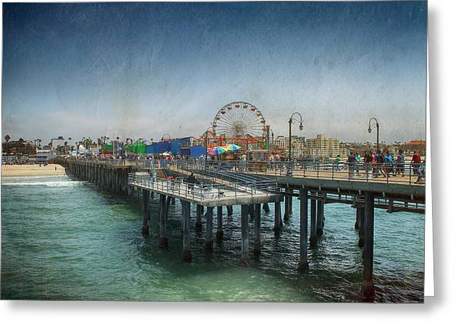 Pier Digital Greeting Cards - Remember Those Days Greeting Card by Laurie Search