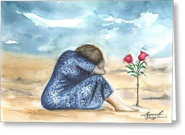 Leonardo Ruggieri Greeting Cards - Remembering A Loved One Greeting Card by Leonardo Ruggieri