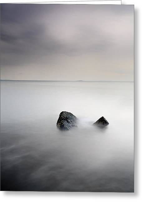 North Sea Greeting Cards - Remnant Greeting Card by Grant Glendinning