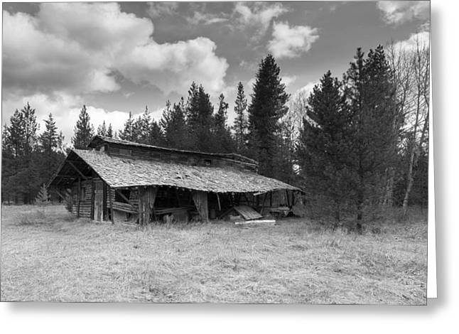 Old Barns Greeting Cards - Remnants Greeting Card by Fran Riley