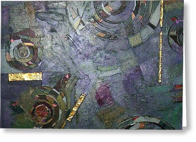 Bernard Goodman Greeting Cards - Remnants Of Time Greeting Card by Bernard Goodman