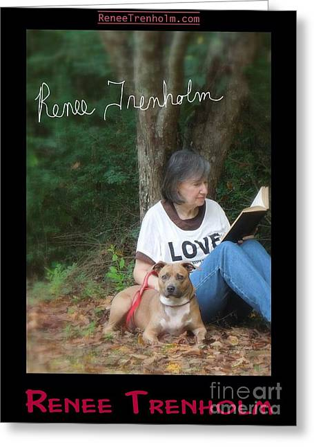 Autographed Photographs Greeting Cards - Renee Trenholm . SIGNED Greeting Card by Renee Trenholm