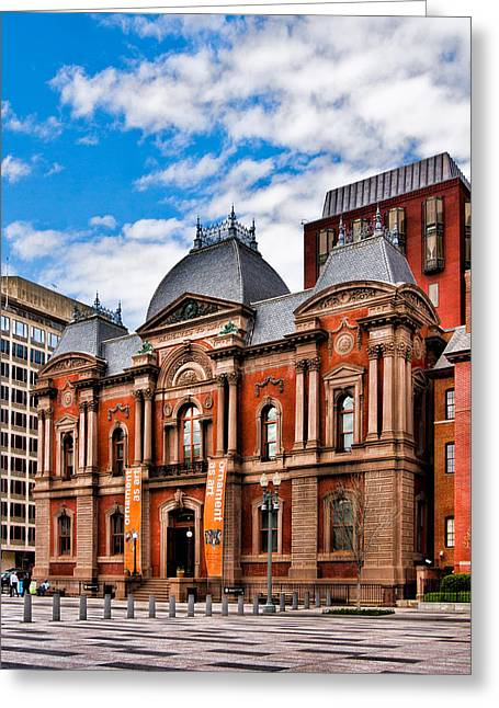 Christopher Holmes Greeting Cards - Renwick Gallery Greeting Card by Christopher Holmes
