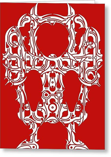 Hopi Drawings Greeting Cards - Requiem II Greeting Card by David Umemoto
