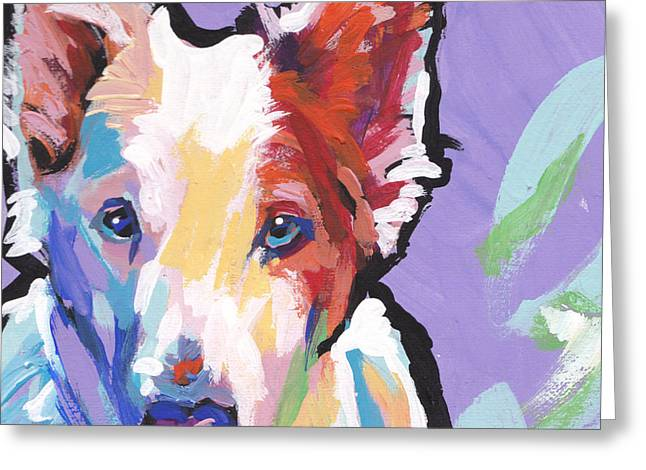 Rescue Dog Greeting Cards - Rescue Me Greeting Card by Lea