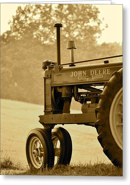 J.d. Grimes Greeting Cards - Resting in Sepia Greeting Card by JD Grimes
