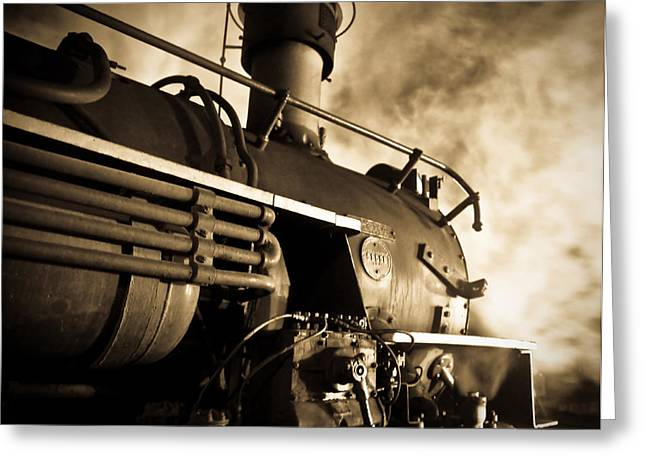 Train Greeting Cards - Resting overnight Greeting Card by Patrick  Flynn