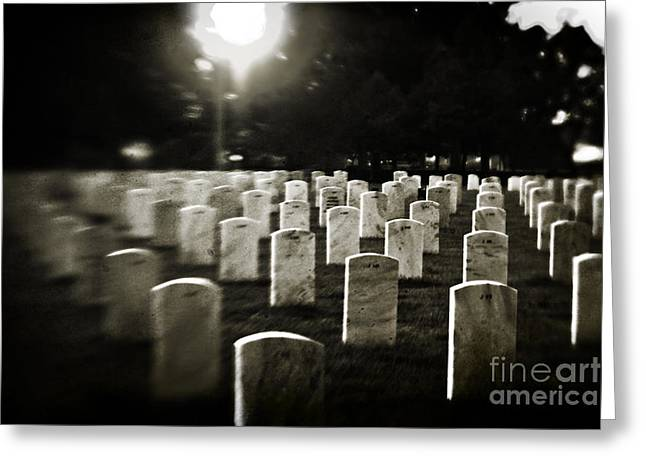 Civil War Site Greeting Cards - Resting Place Greeting Card by Scott Pellegrin