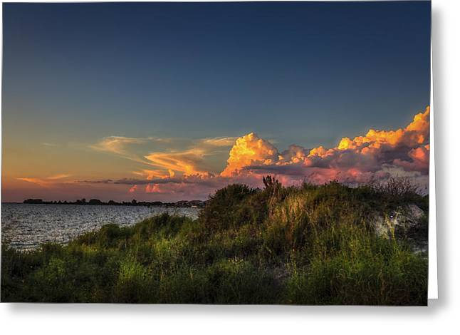 Restless Sky Greeting Card by Marvin Spates