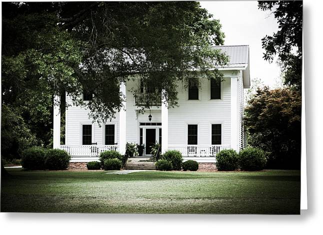 Restored Plantation Greeting Cards - Restored Splendor Greeting Card by Alicia Collins