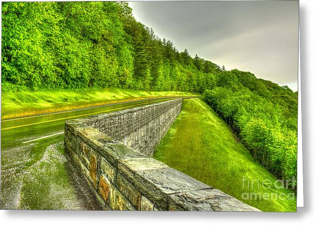 Orange County North Carolina Greeting Cards - Retention The Great Smoky Mountains Greeting Card by Reid Callaway