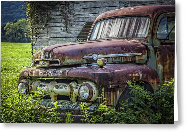 Tennessee Farm Greeting Cards - Retire in Style Greeting Card by Debra and Dave Vanderlaan
