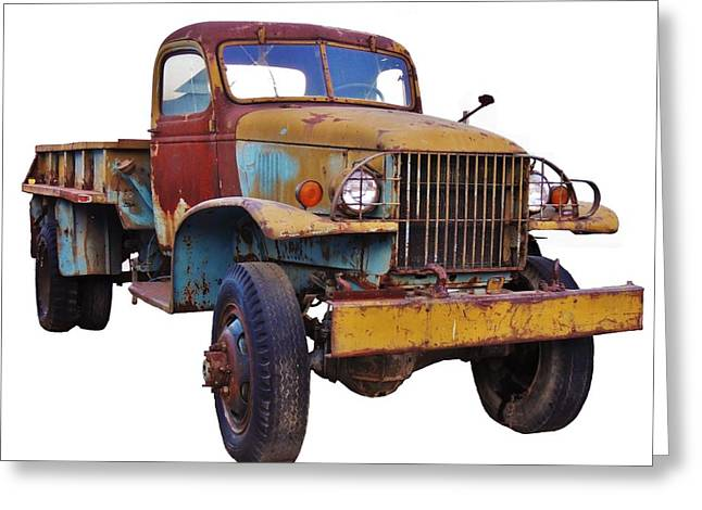 Rusted Cars Greeting Cards - Retired from Service Greeting Card by Julie Hughes