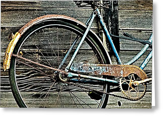 Retired Ride Greeting Card by Marion McCristall