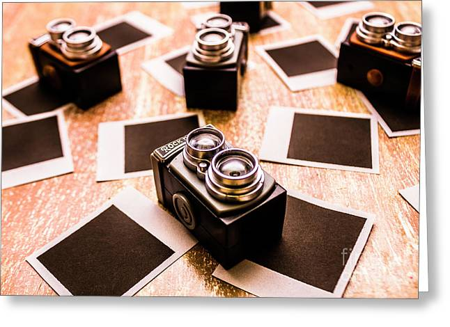 Retro Photographic Scene Greeting Card by Jorgo Photography - Wall Art Gallery