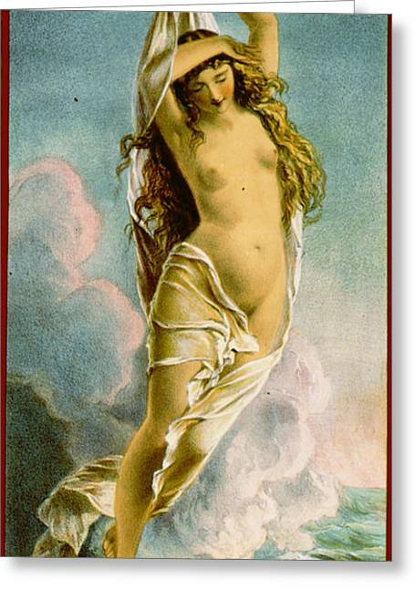 Retro Tobacco Label 1875 Greeting Card by Padre Art