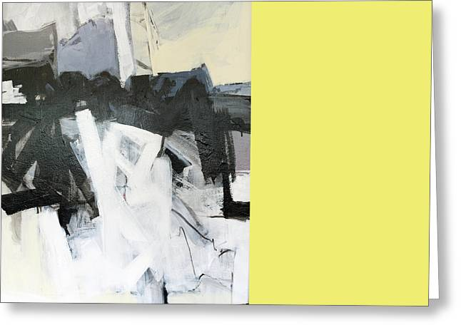 Abstract Expressionist Greeting Cards - Retrograde Greeting Card by James Hudek