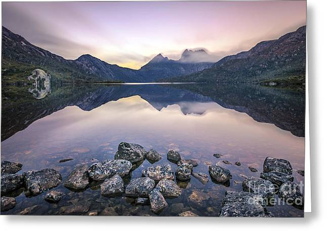 Cradle-mountain Greeting Cards - Return Of Tomorrow Greeting Card by Evelina Kremsdorf