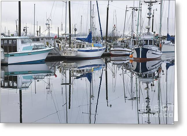 Ketchikan Greeting Cards - Returning to Port Greeting Card by Tim Grams