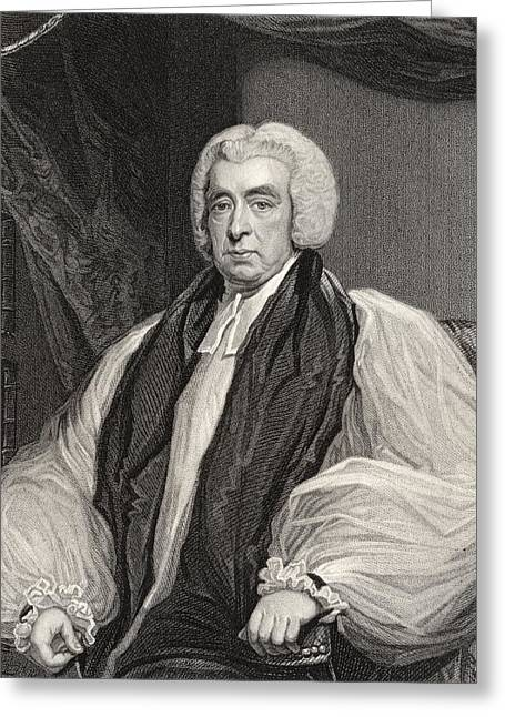 Reformer Drawings Greeting Cards - Rev Beilby Porteus 1731 To 1809 Bishop Greeting Card by Ken Welsh