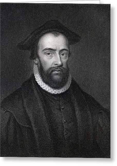 Bradford Greeting Cards - Rev John Bradford 1510 To 1555 English Greeting Card by Ken Welsh