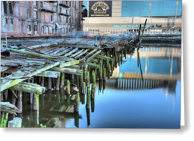 Boston Ma Greeting Cards - Revitalization  Greeting Card by JC Findley