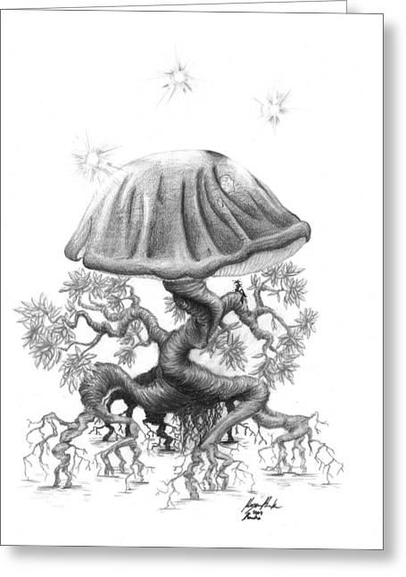 Magic Drawings Greeting Cards - Revka Greeting Card by Morgan Banks