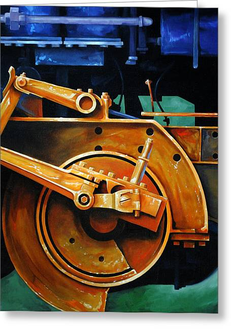 Rusted Greeting Cards - Revolutions Greeting Card by Chris Steinken