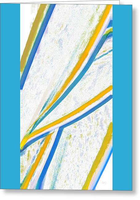 Beach Decor Digital Greeting Cards - Rhapsody In Leaves No 1 Greeting Card by Ben and Raisa Gertsberg