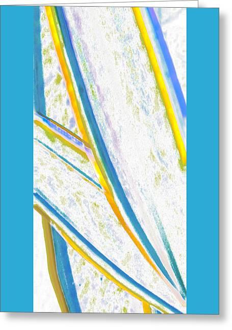 Beach Decor Digital Greeting Cards - Rhapsody In Leaves No 2 Greeting Card by Ben and Raisa Gertsberg