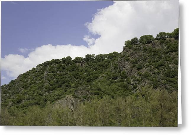 Geologic Formations Greeting Cards - Rhenish Massif 05 Greeting Card by Teresa Mucha