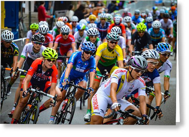 Richmond 2015 Greeting Card by Aaron Dishner