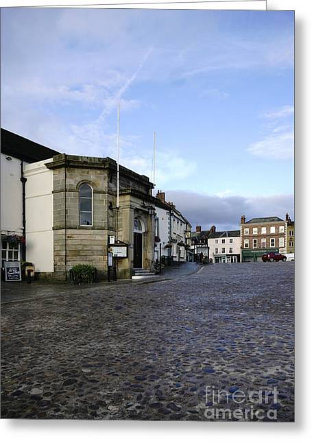 Richmond Market Place Greeting Card by Stephen Smith