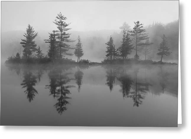 Binh Greeting Cards - Ricker Pond Autumn Vermont Greeting Card by Binh Ly