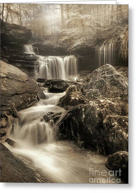 Ricketts Dreamscape Greeting Card by Lori Deiter