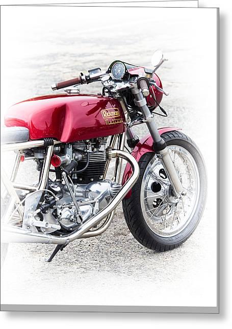 Rickman Metisse Motorcycle  Greeting Card by Tim Gainey