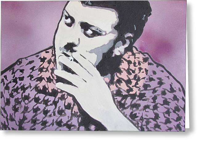 Trailers Greeting Cards - Ricky - Robb Wells - Trailer Park Boy Greeting Card by Eric Dee