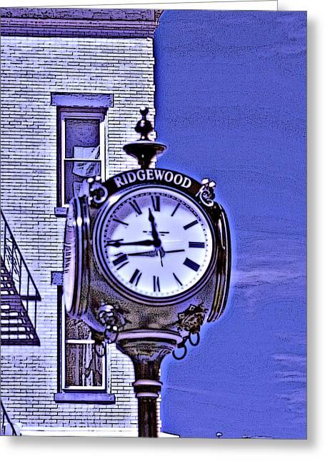 Ridgewood Time Greeting Card by Dimitri Meimaris
