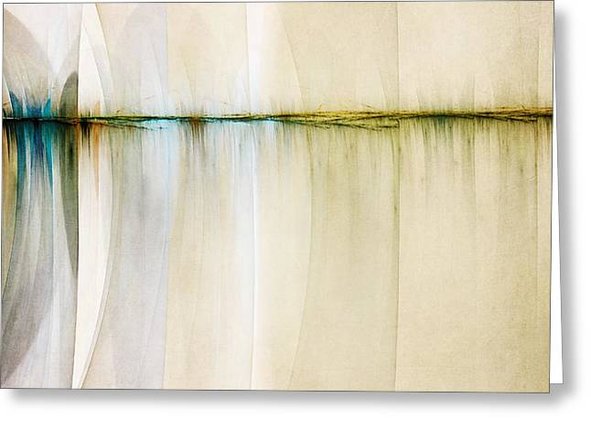 Rift In Time Greeting Card by Scott Norris