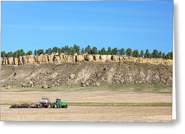 Rimrock Seeder Greeting Card by Todd Klassy