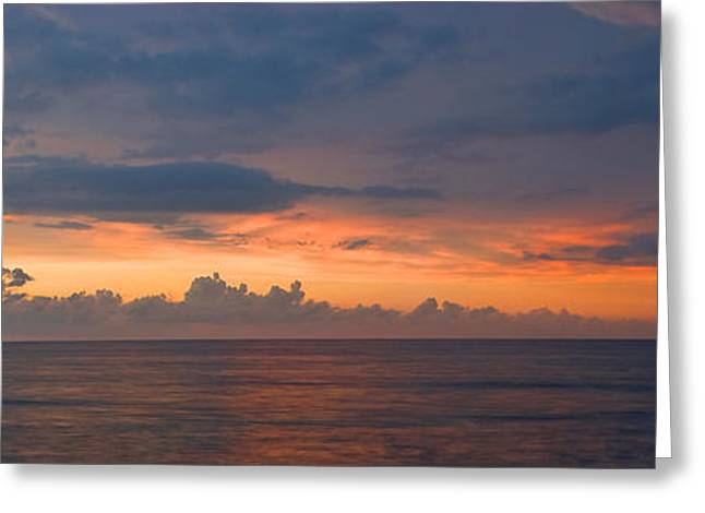 Rincon Greeting Cards - Rincon Sunset 1 Greeting Card by John Magor