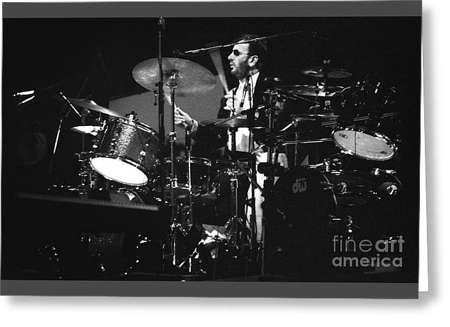 Live Art Greeting Cards - Ringo Starr 92-2046 Greeting Card by Gary Gingrich Galleries