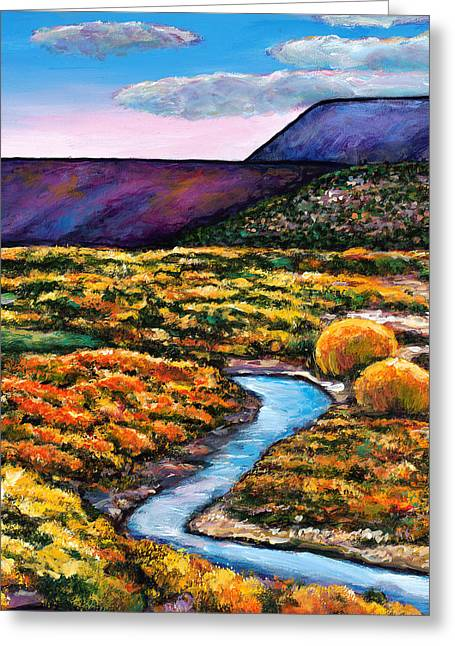 Autumn Art Greeting Cards - Rio Greeting Card by Johnathan Harris