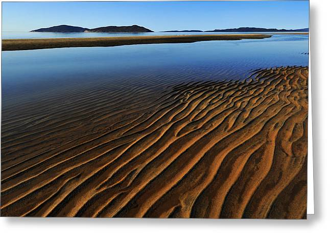 Ripples Greeting Cards - Ripple Greeting Card by Roch Aumont