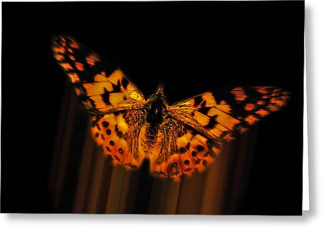 Rise Above It Greeting Card by Kathy Franklin
