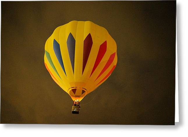 Rising In The Early Dawn Greeting Card by Jeff Swan