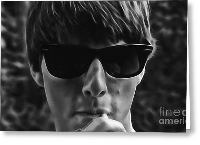 Movie Art Greeting Cards - Risky Business Tom Cruise Collection Greeting Card by Marvin Blaine